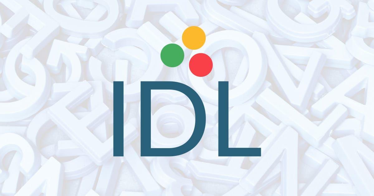 About IDL | IDL